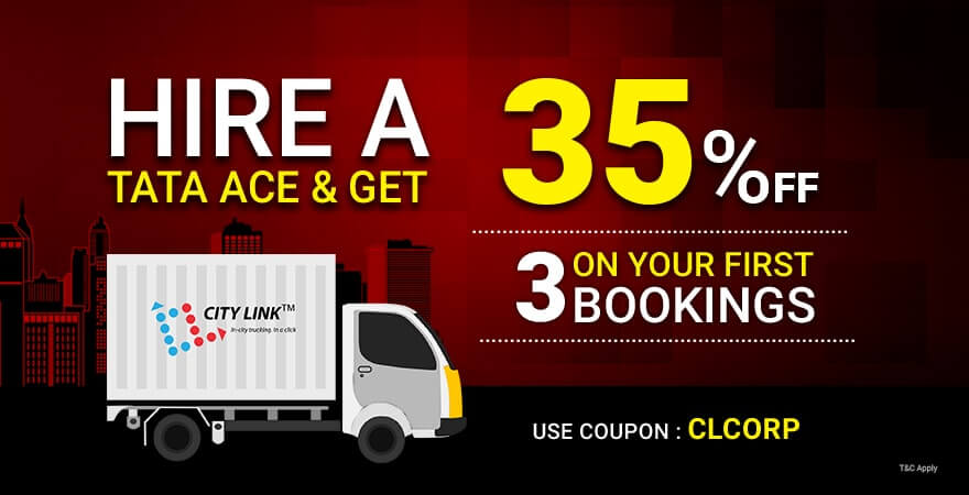 Corporate/enterprise truck booking offers